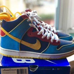 Nike SB Dunk High Pac-Man Sz. 10